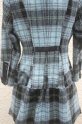 SPLENDIDE ,ce manteau redingotte M§F GIRBAUD ,taille 8 ans*PRIX EN BAISSE* 3