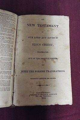 1815 Bible, KJV - William B. Allen & Co. 3 • CAD $752.59