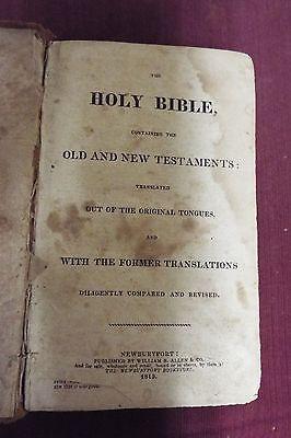 1815 Bible, KJV - William B. Allen & Co. 2 • CAD $752.59