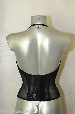 luxueux corset noir ERES liane TAILLE 90B NEUF/ÉTIQUETTE value 230€