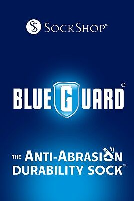 Blueguard - Mens Womens Black Heavy Duty Anti Abrasion Durable Work Boot Socks 5
