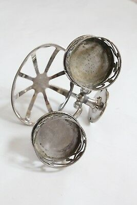 antique bathroom cup soap holder | jl mott iron vtg bath deco victorian plumbing 6