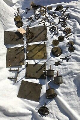 A Very Large Assortment Of Longcase Grandfather Clock Parts 11