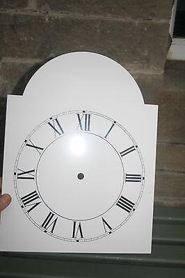 Vintage Enamel Style Clock Face   Replacement Painted On Aluminium Vvgc 4