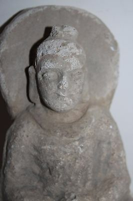 Ancient Indo Greek Buddhist  Buddha  Figure 200/400 Ad God 4