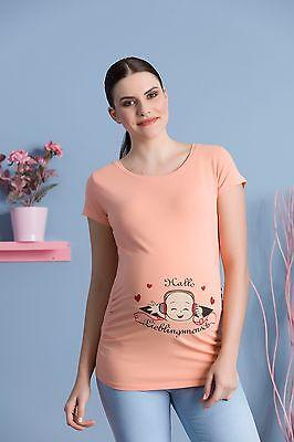 Babyfüße mit Herzchen Witzige süße freche Umstandsmode Umstandsshirt Motiv MMC