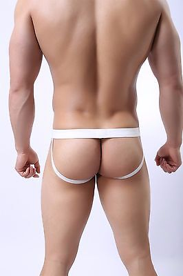 Slip String Jockstrap Filet Transparent Sexy Homme Viril Man Underwear Mk10 4