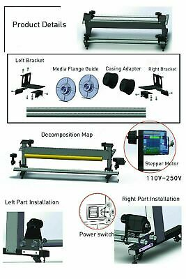 Laminator Media Take-up Reel System Auto for Mutoh/ Mimaki/ Roland/ Epson 6