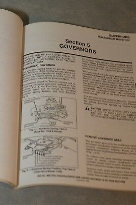 Briggs & Stratton Various Models Twin Cylinder Repair Instruction Manual 271172 4