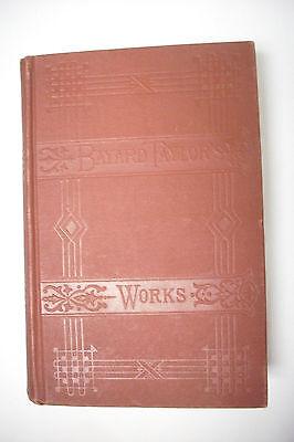 1894 AT HOME AND ABROAD -Bayard Taylor-California-Switzerland-Catskills++