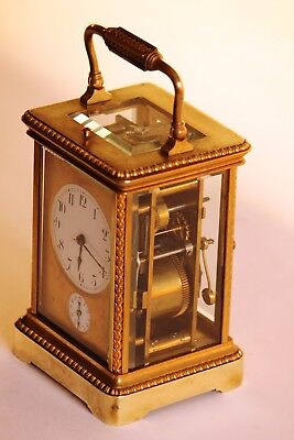 Very fine French Repeating Carriage Clock. in good conditions 2