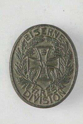 Rare WWI German Eiserne Division Badge_Old_ORIGINAL!