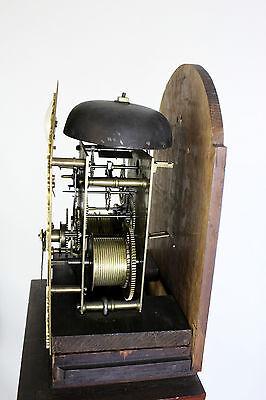 A Mahogany Grandmother Clock By John Walker London 7