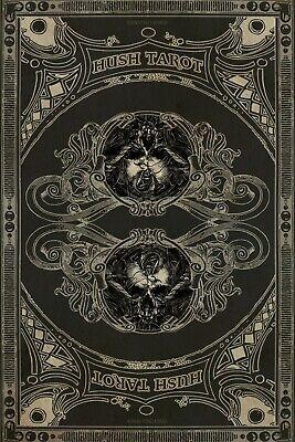 Hush Tarot Cards Deck Jeremy Hush Us Games Systems Spiritual Card Esoteric New 12