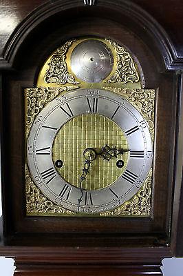 A Mahogany Grandmother Clock By John Walker London 6