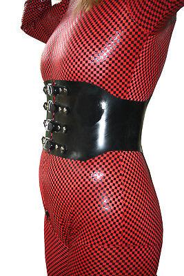 Taillengürtel  aus Gummi zu Latexbekleidung etc. Taillenkorset 72 - 80 cm Umfang 3