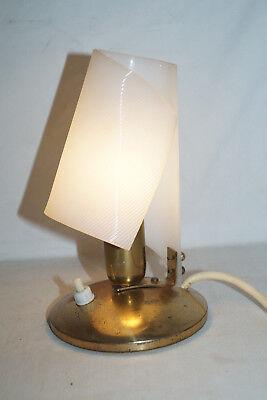 50iger Jahre Nachttisch Lampe Tisch Sideboard Leuchte E14 Fassung