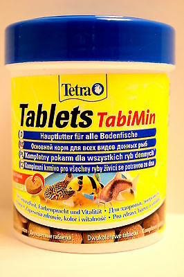 Tetra Tabimin 120 tablets tabs for bottom feeding fish catfish and plecostomus 2