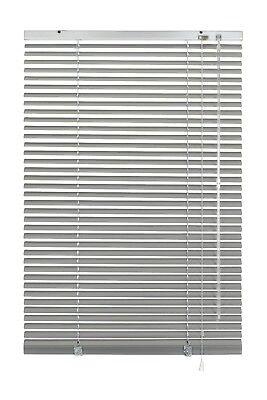 Alu Jalousie Aluminium Jalousette Klemmträger Fenster Rollo Lamelle Weiß Silber 2