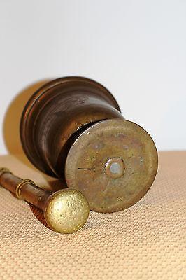 Mörser Schlegel Stössel antik Pistill Küche Pulver Deko Tabletten #6253