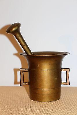 Mörser Schlegel Stössel antik Pistill Küche Pulver Deko Tabletten #6251