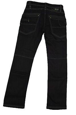Jeans lungo da bambino blu scuro Datch pantalone junior casual moda tasche
