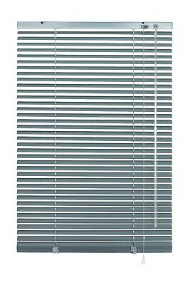 Alu Jalousie Aluminium Jalousette Klemmträger Fenster Rollo Lamelle Weiß Silber 4