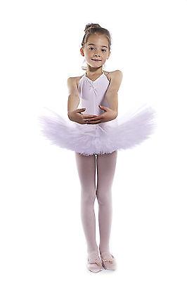 IDS Mauve Lilac Velour Velvet Net Ballet Dance Tutu Age 3-5 VGUC