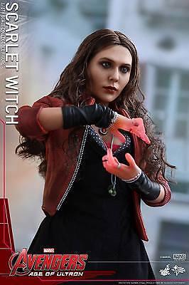 Hot Toys 1/6 Marvel Avengers Mms301 Scarlet Witch Wanda Maximoff Action Figure