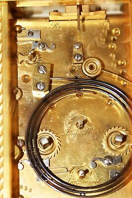 Very fine French Repeating Carriage Clock. in good conditions 9
