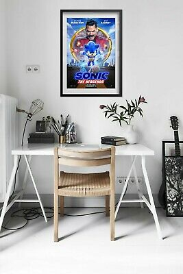Sonic the Hedgehog 2020 Movie Poster - Official Art - High Quality Prints 5