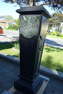 French Art Deco Period Monumental Marble/Slate Pedestal 9