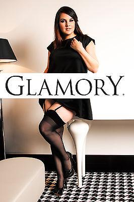 Glamory Perfect 20 Straps-Strümpfe Strapse bis Gr.62 Größe/Farbe wählbar, 50131 2