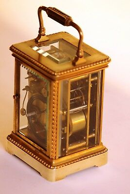Very fine French Repeating Carriage Clock. in good conditions 5