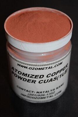 1 LB High Purity 99.3% Copper Powder Mesh -325   Heat/Thermal Paste, Faux Metal 10