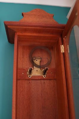 Old Vienna  wall clock with key fully working 7