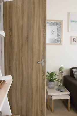 7€/m² d-c-fix Selbstklebende Tür Folie Klebefolie Möbelfolie Holz 90cm x 210cm 2