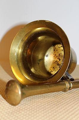 Mörser Schlegel Stössel antik Pistill Küche Pulver Deko Tabletten #6257 4