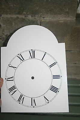 Vintage Enamel Style Clock Face   Replacement Painted On Aluminium Vvgc 10