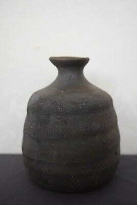 Japanese Bizen-ware Tokkuri. Sake Server, which can be also used as a Vase.(#82) 5