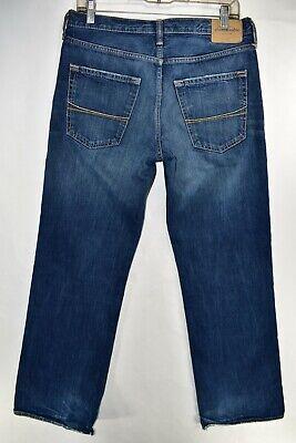 Abercrombie Fitch Kilburn Low Rise Boot Cut Boys Men Jeans Size 16 Meas 30x31 6