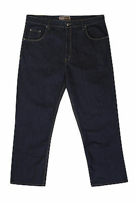 19c8992a459 2 of 6 Mens Big Size Ed Baxter Designer Stretch Jeans Waist 44 46 48 50 52  54 56
