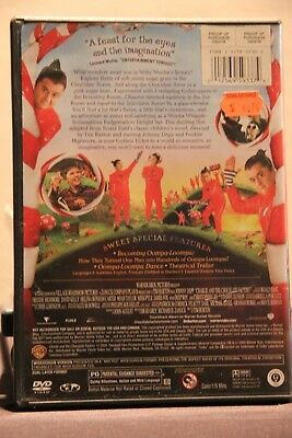 Charlie and the Chocolate Factory (DVD, 2005, Widescreen) - Used 2