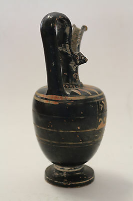 Ancient Greek Attic Black Figure Pottery - Apulia ca 350 BC - Antiques 6