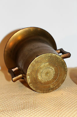 Mörser Schlegel Stössel antik Pistill Küche Pulver Deko Tabletten # 6251 5