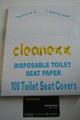 100 Disposable Toilet Seat Covers 2