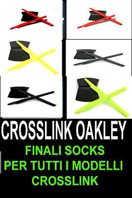 Oakley Aste e finali ricambio mod crosslink 3127 3128 8027 8030 8031 8044 8090 2