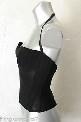 luxueux corset pigeonnant noir ERES taille 95C NEUF SANS ÉTIQUETTE valeur 270€ 2 • EUR 134,91