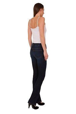 Ex M/&S Indigo Collection Women/'s Bootcut Bootleg Slim Stretch Jeans Size 6-22