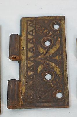 Antique Door Hinges Aesthetic Hardware Victorian Lot Steeple 1877 Singles 6
